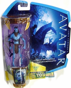 James Cameron's Avatar Movie 3 3/4 Inch Na'vi Action Figure TsuTey [No War Paint] BLOWOUT SALE!