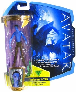 James Cameron's Avatar Movie 3 3/4 Inch RDA Action Figure Norm Spellman in Civilian Clothes With No Shirt [Na'Vi Avatar] BLOWOUT SALE!