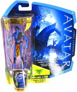 James Cameron's Avatar Movie 3 3/4 Inch Na'vi Action Figure Akwey