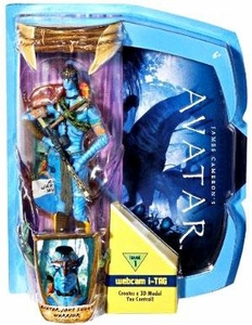 James Cameron's Avatar Movie Masters Deluxe 6 Inch Action Figure Avatar Jake Sully WARRIOR (Level 1) with i-TAG [Na'Vi Avatar]