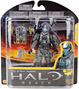 Halo Reach McFarlane Toys Series 3 Action Figure ODST Jetpack Trooper