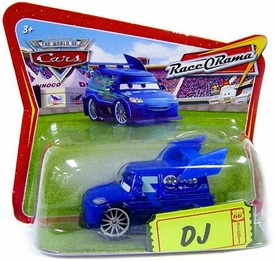 Disney / Pixar CARS Movie 1:55 Die Cast Checkout Lane Package DJ Hard to Find!