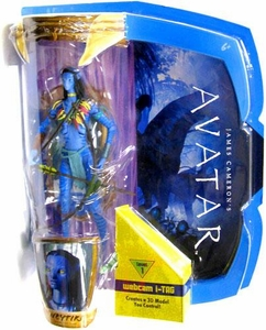 James Cameron's Avatar Movie Masters Deluxe 6 Inch Action Figure Neytiri with i-TAG [Na'Vi Avatar]