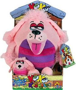 KooKoo Kennel 6 Inch Plush High-Strung, Totally Pampered, Poodledoodle [Includes Mini Puppy]