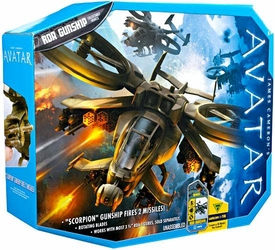 James Cameron's Avatar Movie Toy RDA Combat Vehicle RDA Gunship [Scorpion Chopper]