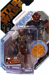 Star Wars 30th Anniversary Saga 2007 Action Figure Wave 3 Ultimate Galactic Hunt Chewbacca [McQuarrie Concept]