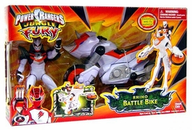 Power Rangers Jungle Fury Cycles Rhino Battle Bike