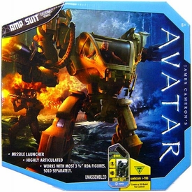 James Cameron's Avatar Movie Toy RDA Combat Vehicle AMP Suit