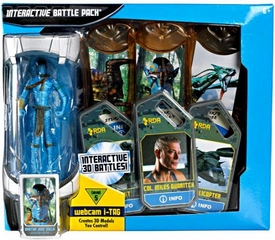 James Cameron's Avatar Movie Interactive Battle Pack [Includes Jake Sully Action Figure with i-Tags]