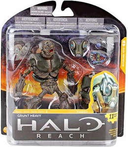 Halo Reach McFarlane Toys Series 3 Action Figure Grunt Heavy COLLECTOR'S CHOICE!