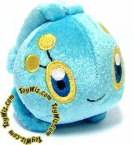 Pokemon Japanese Plush Bath Toy Chibi Manafy