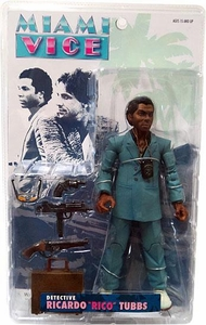 Mezco Toyz Miami Vice Action Figure Rico Tubbs [Blue Suit Variant]