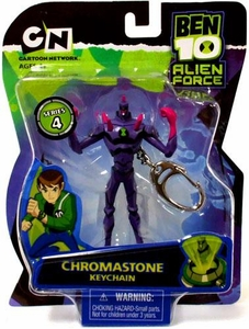 Ben 10 Alien Force Series 4 Keychain Chromastone