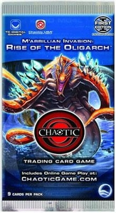 Chaotic Card Game Series 5 M'arrillian Invasion: Rise of the Oligarch Booster Pack