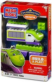 Chuggington Buildable Chuggers Mega Bloks Set #96602 Koko