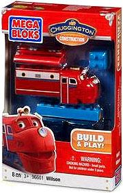 Chuggington Buildable Chuggers Mega Bloks Set #96601 Wilson