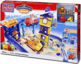 Chuggington Mega Bloks Set #96629 Jet Pack Adventure [Wilson & AC]