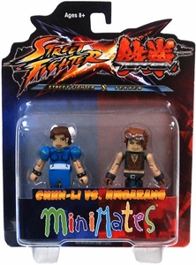 Street Fighter X Tekken Minimates Series 2 Mini Figure 2-Pack Chun-Li vs Hwoarang