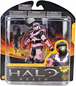 Halo Reach McFarlane Toys Series 3 Action Figure ROSE Spartan Air Assault {Female}