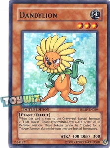 YuGiOh Shonen Jump Promo Single Card Ultra Rare JUMP-EN029 Dandylion