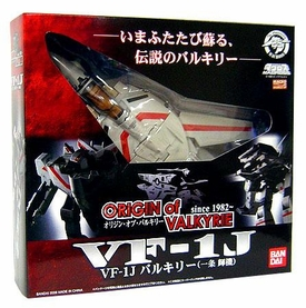 Robotech Macross 25th Anniversary Bandai 1/55 Scale Transformable Origin of Valkyrie VF-1J