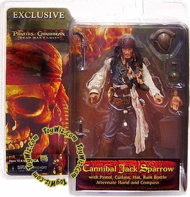 NECA Pirates of the Caribbean Dead Man's Chest Exclusive Action Figure Cannibal Jack Sparrow