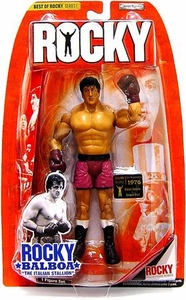 Jakks Pacific Best of Rocky Series 1 Action Figure Rocky Balboa [Rocky I Vs. Spider Rico]