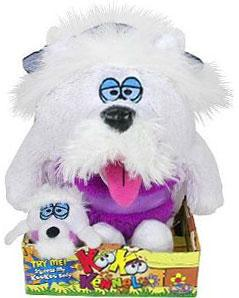 KooKoo Kennel 6 Inch Plush Scruffy, North-Highland, Hairyterrier [Includes Mini Puppy]
