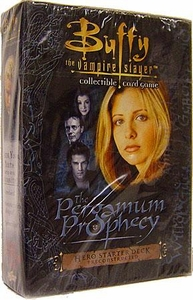 Buffy the Vampire Slayer Card Game Class of '99 The Pergamum Prophecy Hero Starter Deck