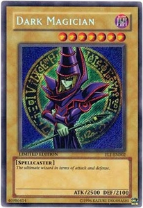 YuGiOh Limited Edition Single Card Forbidden Legacy FL1-EN002 Dark Magician