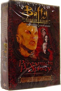 Buffy the Vampire Slayer Card Game Class of '99 The Pergamum Prophecy Villain Starter Deck