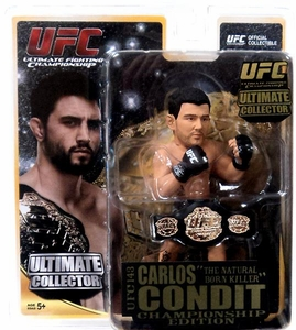 Round 5 UFC Ultimate Collector Series 11 CHAMPIONSHIP EDITION Action Figure Carlos Condit
