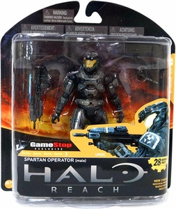 Halo Reach McFarlane Toys Series 3 Exclusive Action Figure STEEL Spartan Operator {Male} COLLECTOR'S CHOICE!