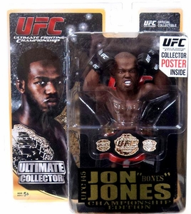 Round 5 UFC Ultimate Collector Series 11 CHAMPIONSHIP EDITION Action Figure  Jon Bones Jones