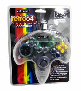 Nintendo Classic N64 Controller [Clear] {Random Package Design}