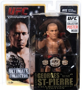 Round 5 UFC Ultimate Collector Series 11 CHAMPIONSHIP EDITION Action Figure  Georges St-Pierre