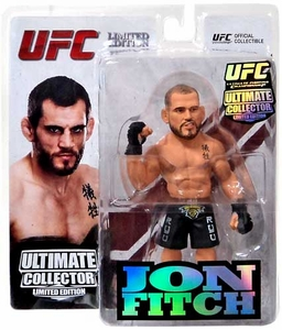 Round 5 UFC Ultimate Collector Series 12.5 LIMITED EDITION Action Figure Jon Fitch Only 1,000 Made!