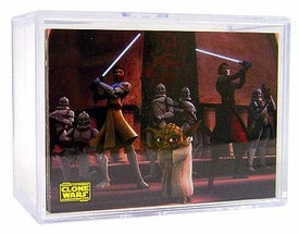 Topps Star Wars Clone Wars Animated Series Complete Basic Set [90 Cards]