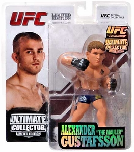 Round 5 UFC Ultimate Collector Series 12.5 LIMITED EDITION Action Figure Alexander Gustafsson Only 1,000 Made!