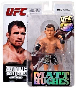 Round 5 UFC Ultimate Collector Series 12.5 LIMITED EDITION Action Figure Matt Hughes Only 1,000 Made!
