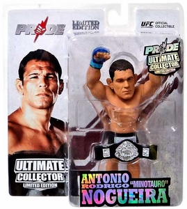 Round 5 UFC Ultimate Collector Series 12.5 LIMITED EDITION Action Figure Antonio Rodrigo Nogueira [Pride Championship with Belt] Only 1,000 Made!