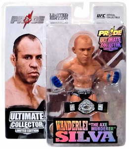 Round 5 UFC Ultimate Collector Series 12.5 LIMITED EDITION Action Figure Wanderlei Silva Only 1,000 Made!