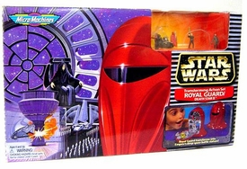 Star Wars Micro Machines Transforming Action Set Royal Guard / Death Star II [Missing Imperial Shuttle!]