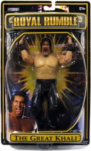 WWE Wrestling PPV 2009 Royal Rumble Action Figure The Great Khali