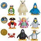 Disney Club Penguin Mix 'N Match Mini Figure 8-Pack #1 {Plus 2 Gold Coins} [Ninja, Gary, Rockhopper, Sensei, Faery, Squidzoid, Aunt Aeric, Herbert & Esquire]