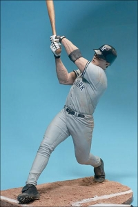 McFarlane Toys MLB Sports Picks Series 3 Action Figure Jason Giambi (New York Yankees) Gray Jersey
