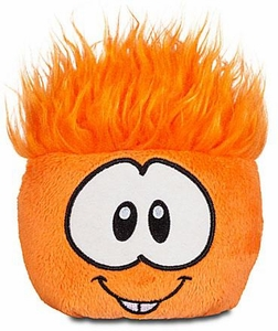 Disney Club Penguin 4 Inch Series 6 Plush Puffle Orange [Includes Coin with Code!]