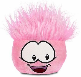 Disney Club Penguin 4 Inch Series 6 Plush Puffle Pink [Includes Coin with Code!]