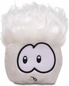 Disney Club Penguin 4 Inch Series 6 Plush Puffle White [Includes Coin with Code!]