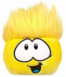 Disney Club Penguin 4 Inch Series 9 Plush Puffle Yellow [Includes Coin with Code!]